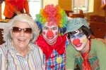 Jewish juggling Mitzvah Clown and Photographer spreads smiles, love and joy